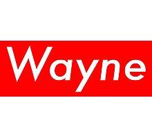 Wayne- Supreme Style Photographic Print