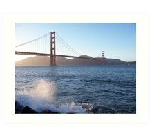 San Francisco spray Art Print