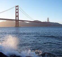 San Francisco spray by purplefoxphoto