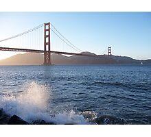 San Francisco spray Photographic Print