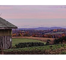 A Good Ol Country Outlook Photographic Print