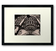 New World architecture.  Framed Print