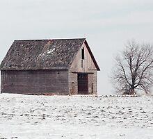 Lonely Pennsylvania barn by purplefoxphoto