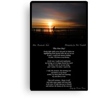 ~ This New Day ~ A collaboration with Paul Campbell ~ Canvas Print