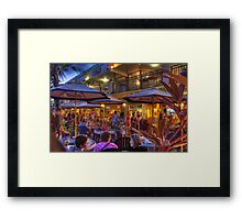 A good place to dine. Framed Print