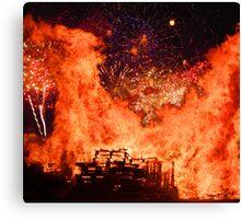 Guy Fawkes - November 5th !! Canvas Print
