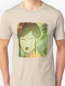 Vintage Style Geisha Unisex T-Shirt