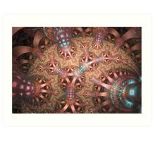 Spherical Lace Art Print