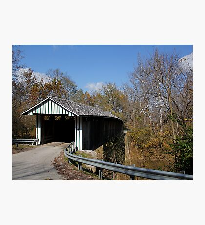 Colville Covered Bridge Photographic Print
