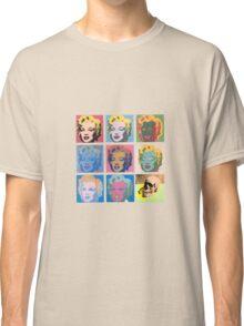 skull marilyn Classic T-Shirt