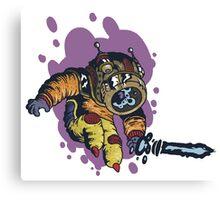 Invader Helmet Canvas Print