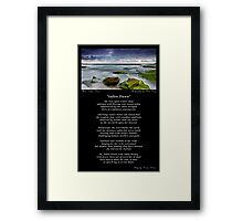 ~ Sullen Dawn ~ A collaboration with Mark Lucey ~ Framed Print