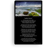 ~ Sullen Dawn ~ A collaboration with Mark Lucey ~ Canvas Print