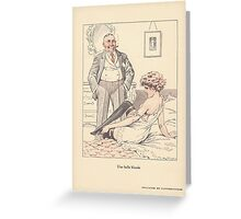 Une belle blonde Greeting Card