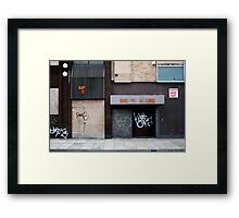 BRI G     H USE  Framed Print
