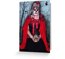 Raven Heart Greeting Card