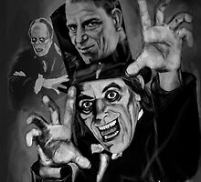THE MAN OF A THOUSAND FACES ! LON CHANEY SR by Ray Jackson