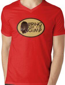 Bring out the Gimp Mens V-Neck T-Shirt