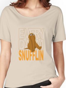 Every Day I'm Snufflin' Women's Relaxed Fit T-Shirt