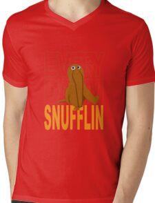 Every Day I'm Snufflin' Mens V-Neck T-Shirt