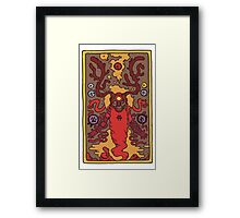 The Missing Scholar Framed Print