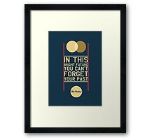 Typography Posters - Bob Marley Quotes Framed Print