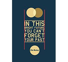 Typography Posters - Bob Marley Quotes Photographic Print