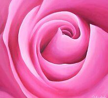 Pink Rose by Belinda Lindhardt