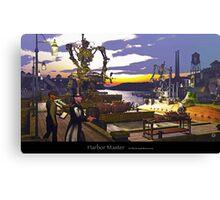 Harbor Master Canvas Print