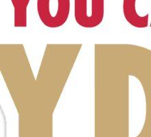 Carlos HYDE Sticker