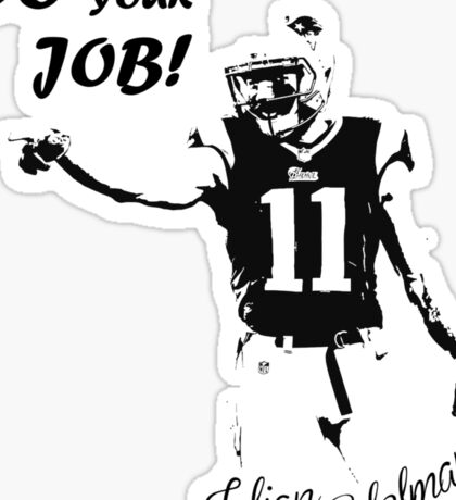 Julian Edelman  Sticker