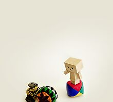 Danbo and Wall-E by MaShusik