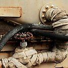 Mummy Train Tank by Larry Costales