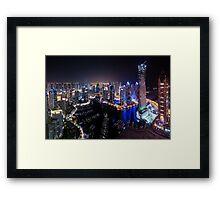 Marina Heights Framed Print
