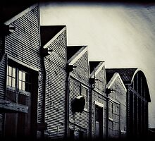 E-Shed Alleyway - Fremantle, W.A. by Sandra Chung