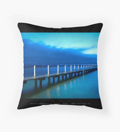 North Narrabean Tidal Pool, NSW Australia Throw Pillow