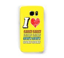 I love Geeks Samsung Galaxy Case/Skin