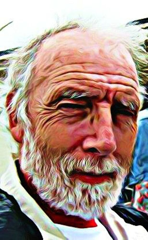 PORTRAIT OF THE ARTIST AS AN OLD GUY by Terry Collett