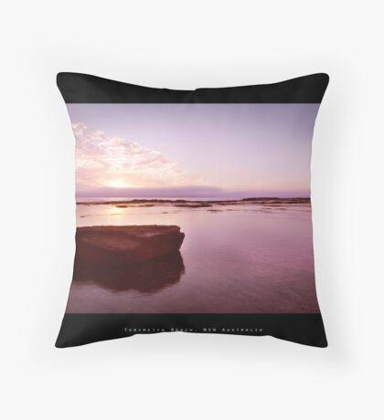 Turimetta Beach, NSW Australia Throw Pillow