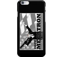 Vote Megatron! alt i-phone for left handed users iPhone Case/Skin