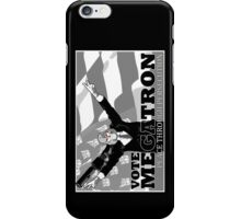Vote Megatron! alt i-phone for left handed users iPhone Case/Skin