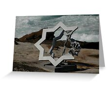 Star Of David @ Sculptures By The Sea Greeting Card