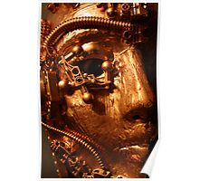 the gold cyborg  Poster