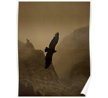 On Dark Wings Poster