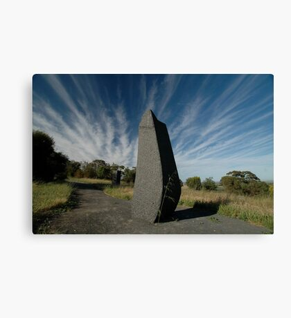 Spike ,Barossa Sculpture Park, South Australia Canvas Print