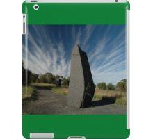 Spike ,Barossa Sculpture Park, South Australia iPad Case/Skin