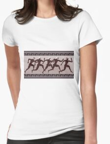 Ancient Greek figure Womens Fitted T-Shirt