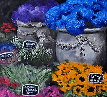 Amsterdam Flower Markets by Jennifer Lyn King