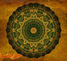 Oasis Mandala (signed) by Richard H. Jones