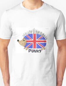 Punky the Hedgehog Union Jack T-Shirt